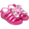 Sandália Infantil WorldColors Drops Baby - Pink Translucido