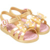 Sandália Infantil WorldColors Alice Baby - Dourado Perolado