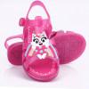 Sandália Infantil WorldColors Alice Kids - Pink Translucido/Pink
