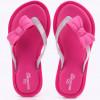 Chinelo Infantil WorldColors Sol Kids- Pink/transparente Gliter