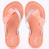Chinelo Infantil WorldColors Summer Kids - Papaya/Transparente Gliter