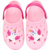 Babuche Infantil WorldColors Pop Baby - Pink/Branco