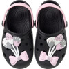 Babuche Infantil WorldColors Pop Baby - Preto/Rosa BB