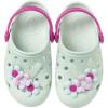Babuche Infantil WorldColors Pop Baby - Verda Chá/Pink