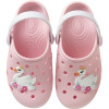 Babuche Infantil WorldColors Pop Baby - Rosa BB/Branco