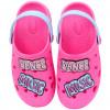 Babuche Infantil WorldColors Pop Kids - Pink/Azul Céu