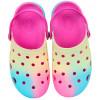 Babuche Infantil WorldColors Pop Kids - Pink/Tie Dye