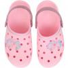 Babuche Infantil WorldColors Pop Kids - Rosa Bb/prata Gliter
