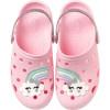 Babuche Infantil WorldColors Pop Kids - Rosa BB/Gliter Prata