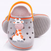 Babuche Infantil Wboys Pop Baby - Cinza/laranja