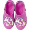 Babuche Infantil WorldColors Pop Sport Kids - Pink/Gliter Prata