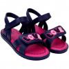 Sandália Infantil WorldColors Drops Kids - Marinho/pink
