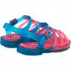 Sandália Infantil WorldColors Drops Kids - Azul Royal/Pink