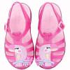 andália Infantil WorldColors Bela Kids - Pink Translucido