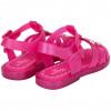 Sandália Infantil WorldColors Bela Kids - Pink Translucido/pink