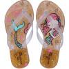 Chinelo Infantil WorldColors Summer Kids - Gliter Dourado
