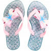 Chinelo Infantil WorldColors Summer Kids - Azul Frozen/Rosa BB