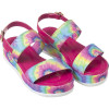 Sandália Infantil WorldColors Cherry Teens - Pink Tie Dye