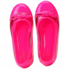 Sapatilha Infantil WorldColors Fleur Teens - Pink/Transparente