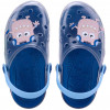 Babuche Infantil Wboys Clear Kids - Transparente/royal