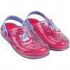 Babuche Infantil WorldColors Clear Baby - Transparente/pink