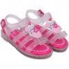 Sandália Infantil WorldColors Lilly Baby - Transparente/Pink