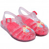 Sandália Infantil WorldColors Lilly Baby - Transparente/Coral